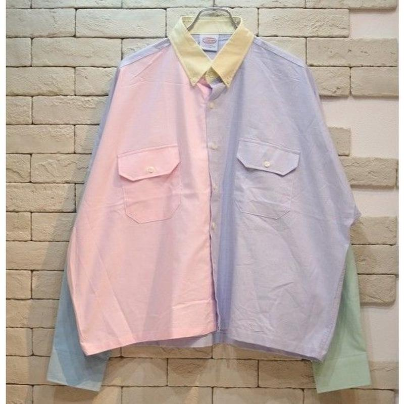 PARAGRAPH PASTEL CRAZY CROPPED SHIRTS