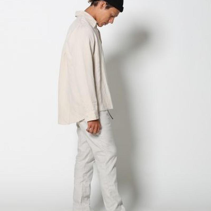 EDIT CLOTHING(エディットクロージング)Linen trousers pants(リネントラウザーズパンツ/ライトベージュ)