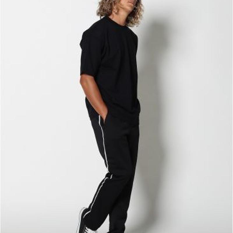 EDIT CLOTHING(エディットクロージング)Line straight jersey pants(ラインストレートジャージパンツ/2色)