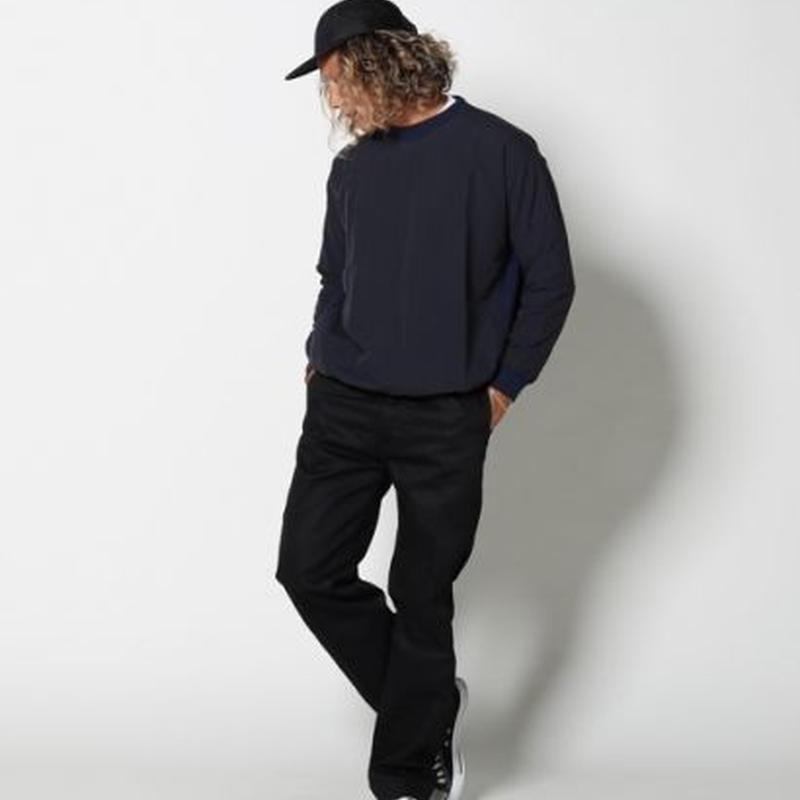EDIT CLOTHING(エディットクロージング)Nylon sports pullover(ナイロンスポーツプルオーバー/2色)
