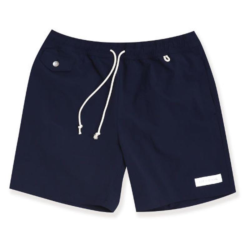 edit clothing  エディットクロー ジング 4way stretch board shorts(4ウェイストレッチボードショーツ/ネイビー)