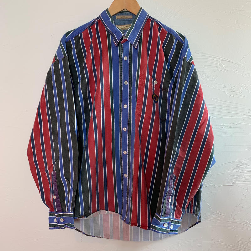 guess classic 90s  ボタンダウンストライプシャツ