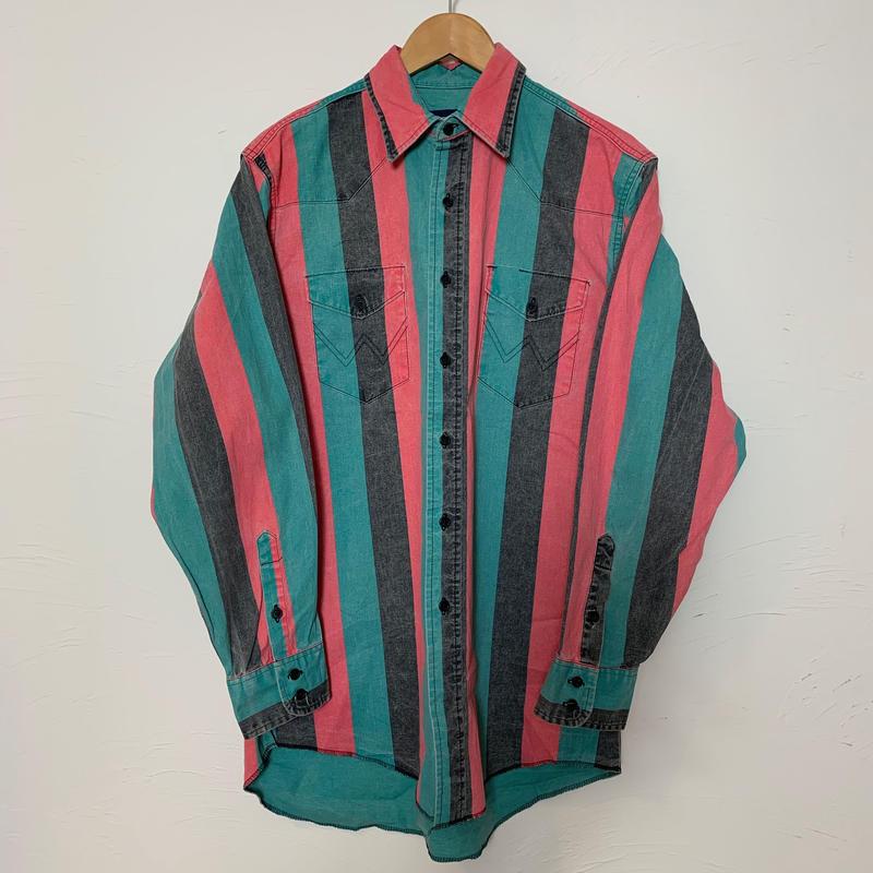 Wrangler 90s  デニムウェスタンシャツ