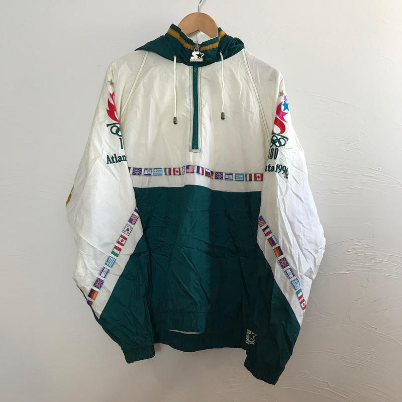 starter  90s アノラックパーカー アトランタオリンピック