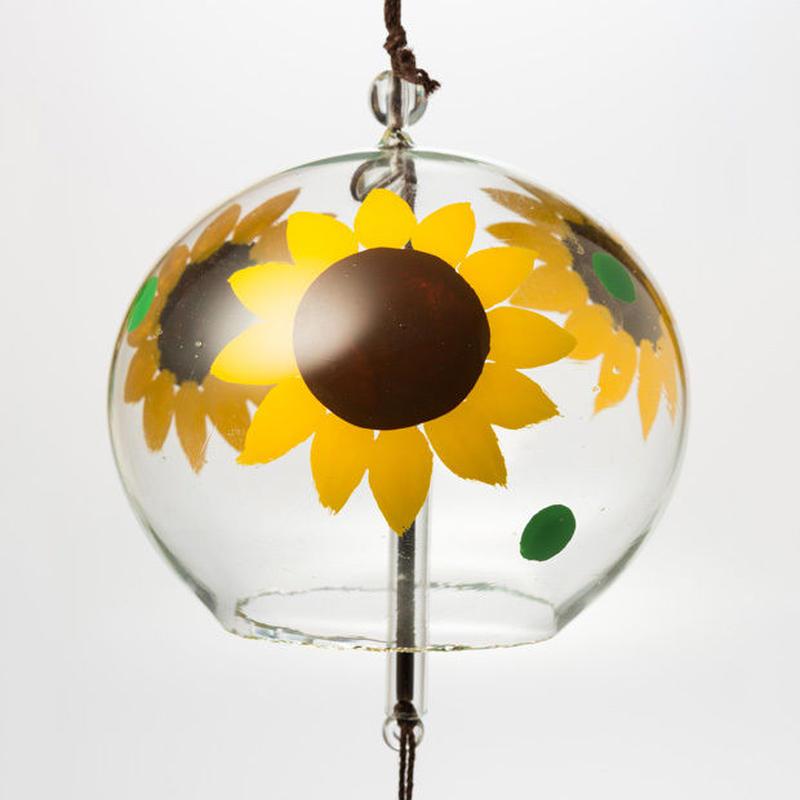 江戸風鈴 小丸「ひまわり」 Edo Fu-Lin (small): Sunflower