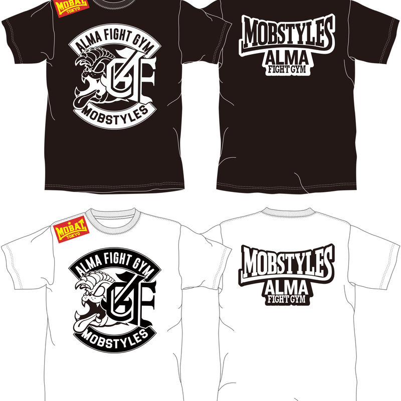 MOBSTYLES✖️ALMA FIGHT GYM コラボTシャツ  綿