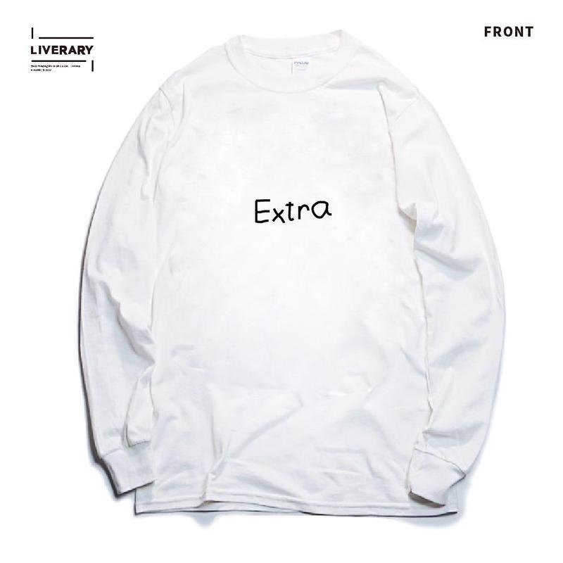 HIMAA×LIVERARY Extra Long Sleeve T-shirts+1STICKER