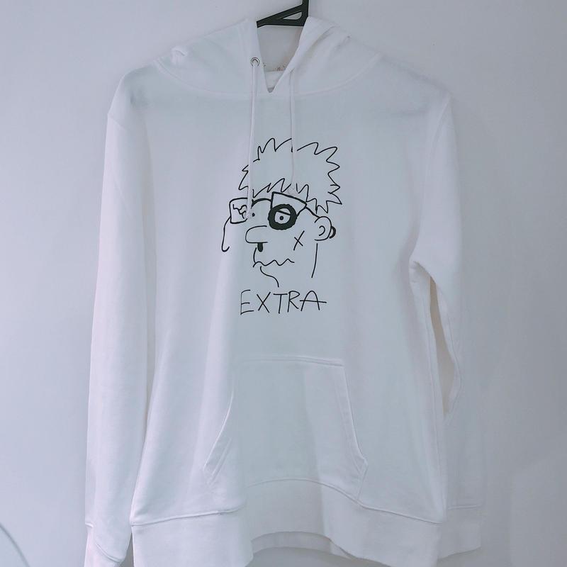 """加賀美健  ×  LIVERARY  """"EXTRA""""face  Parka"""