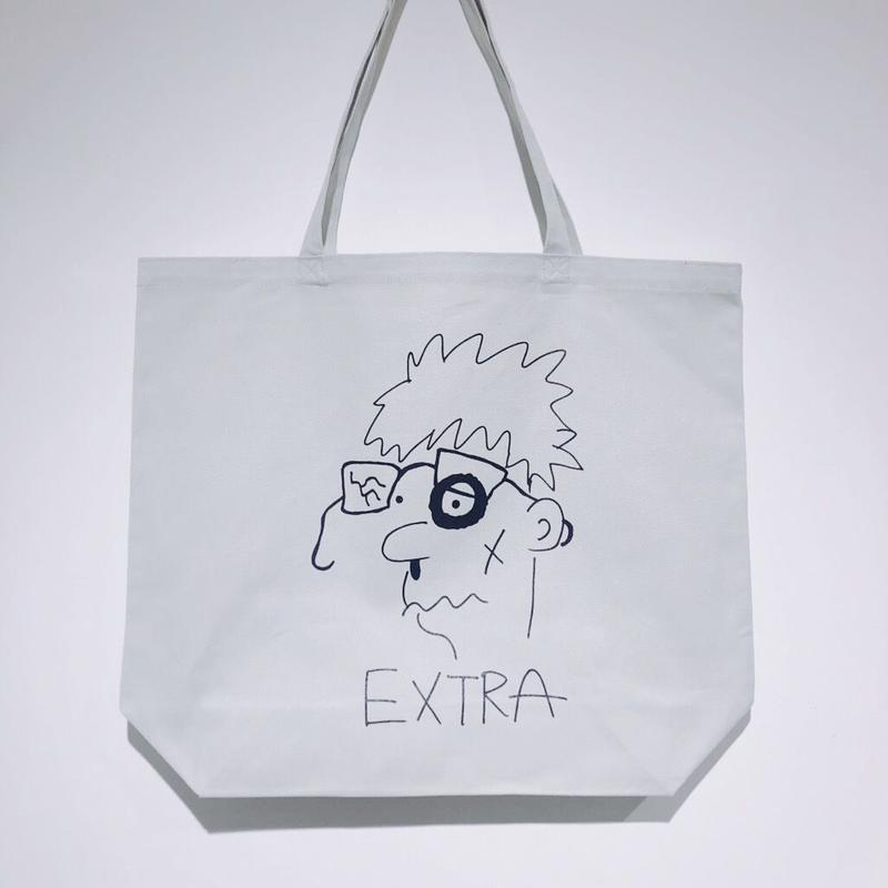 "加賀美健  × LIVERARY  ""EXTRA"" 5 Colors Tote  Bag"