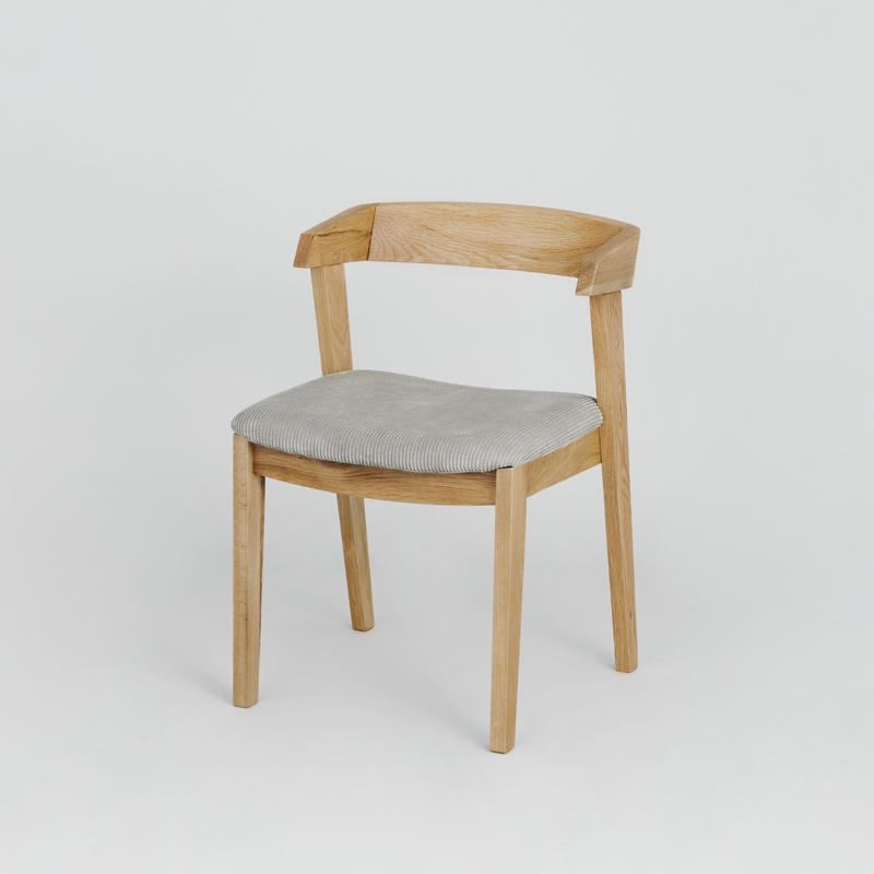 Corduroy Ridge Back Chair