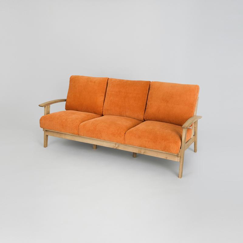Corduroy Sofa 3P