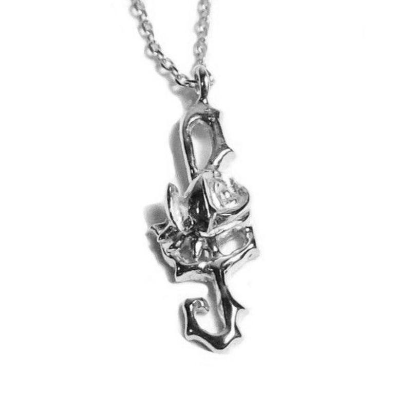 LL.T Rose  PENDANT- SILVER