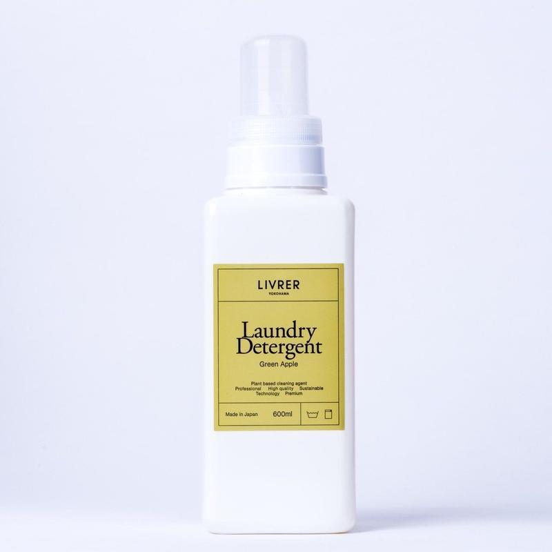 600ml】洗濯用洗剤 グリーンアップル/Landry Detergent ▶Green Apple <綿、麻、合成繊維用>