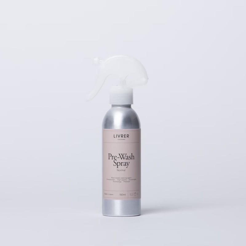 150ml】前処理スプレー/PRE-WASH SPRAY ▶︎ Fragrance Free <綿、麻、合成繊維用>