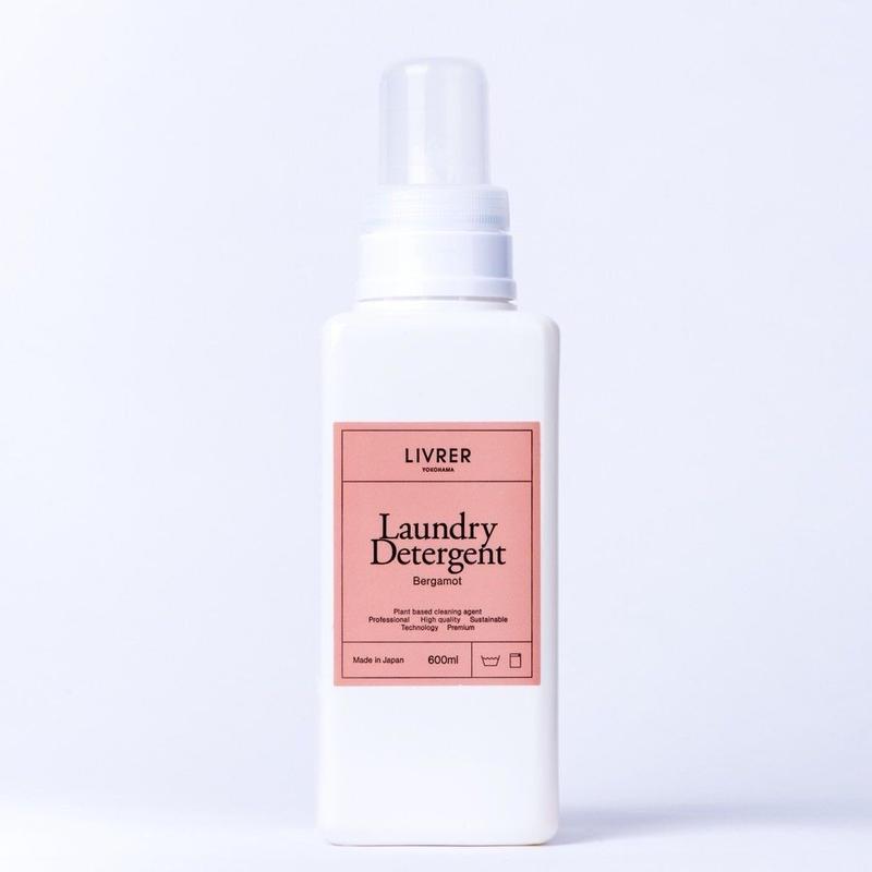 600ml】洗濯用洗剤 ベルガモット/Landry Detergent ▶Bergamot <綿、麻、合成繊維用>
