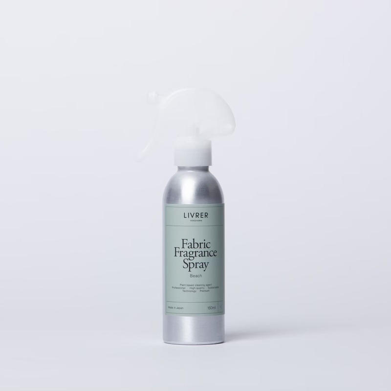 150ml】ファブリック スプレー/THE FABRIC FRAGRANCE SPRAY ▶︎  Beach <シワ取り、消臭効果もプラス>