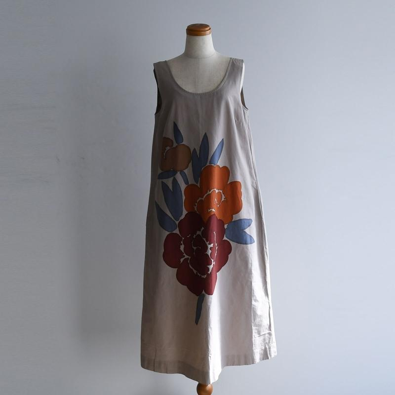 1970s Marimekko Floral Cotton Dress