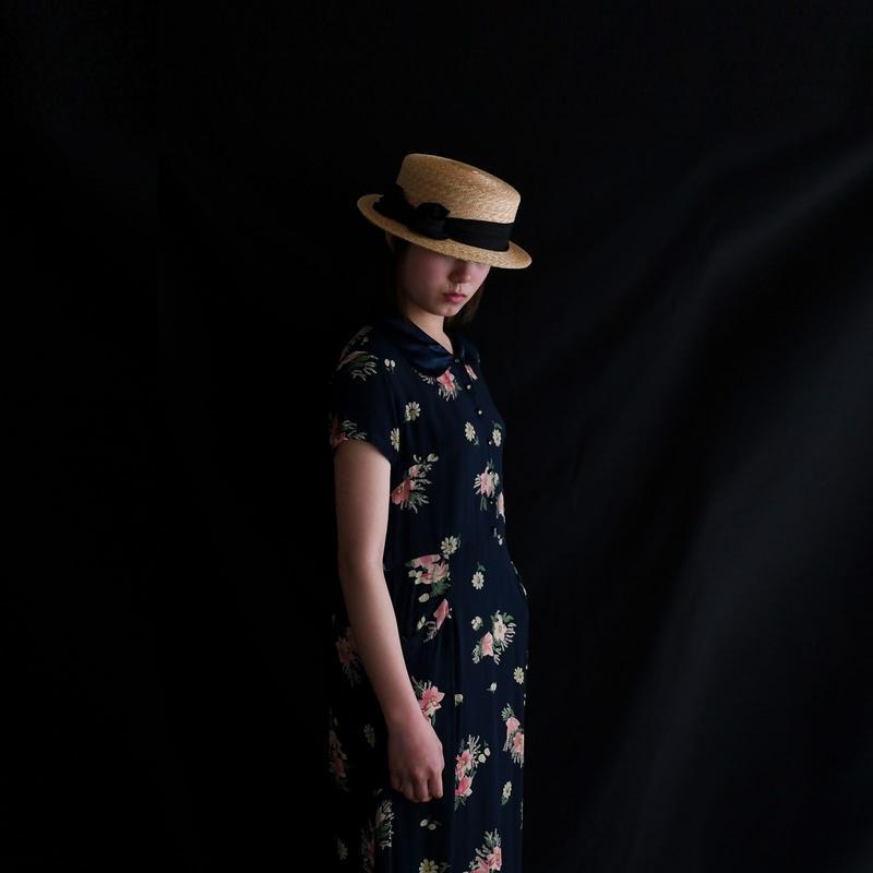 1990s Floral Maxi Dress