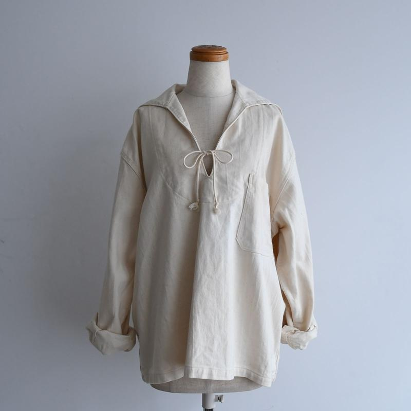vintage Cream Sailor Shirt