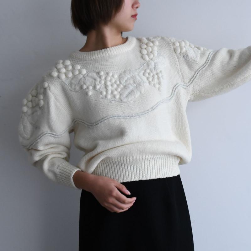 1980s Grape Sweater