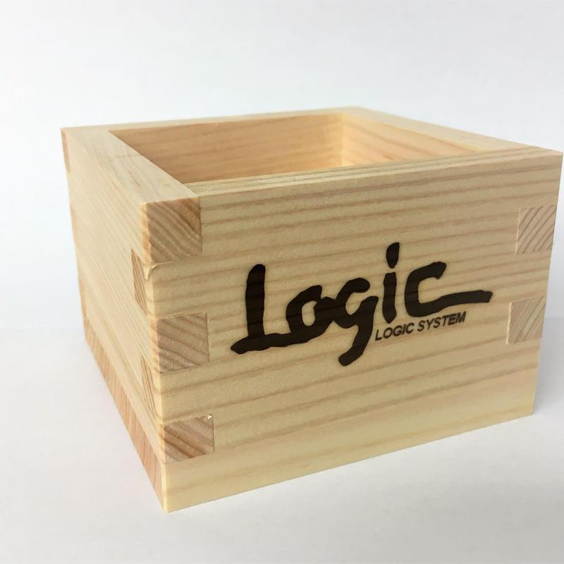 Logic System × 菊姫 (Kikuhime)  一合枡 (ichigo masu cup) / 1piece