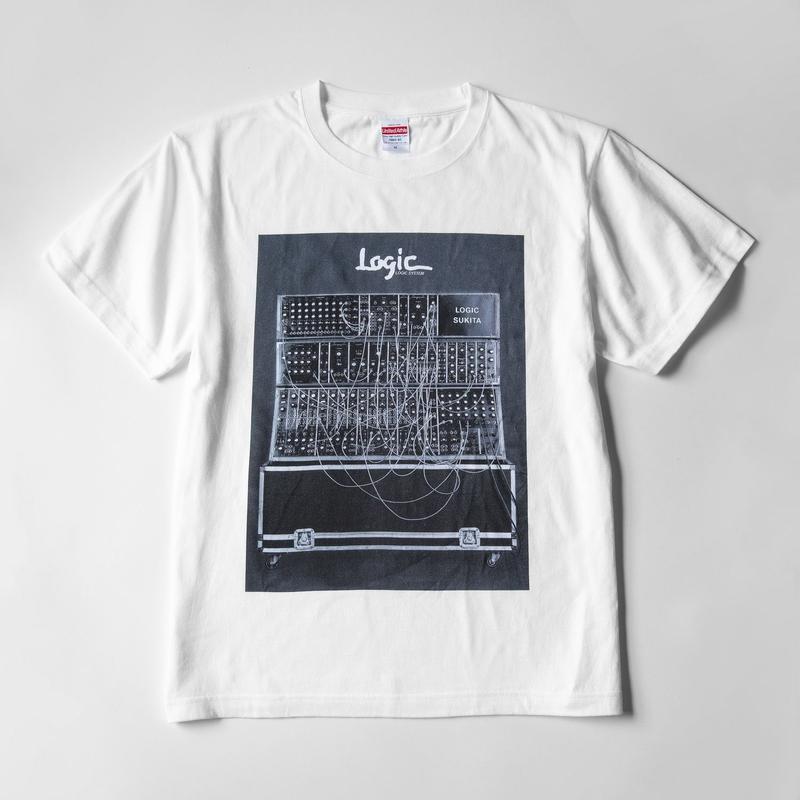 pinewaves / Logic System × SUKITA フォトTシャツ(ホワイト)