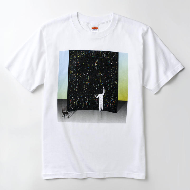 "pinewaves / Logic System "" RMXLOGIX Vol.1"" Tシャツ"