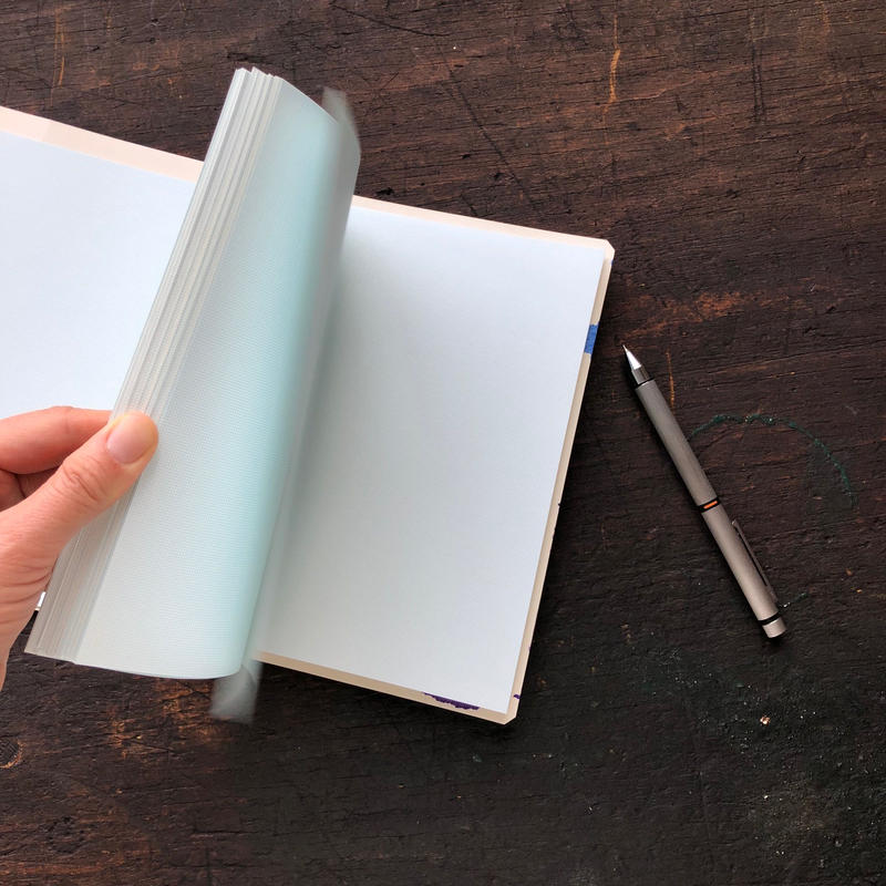 Wheel Printed Notebook