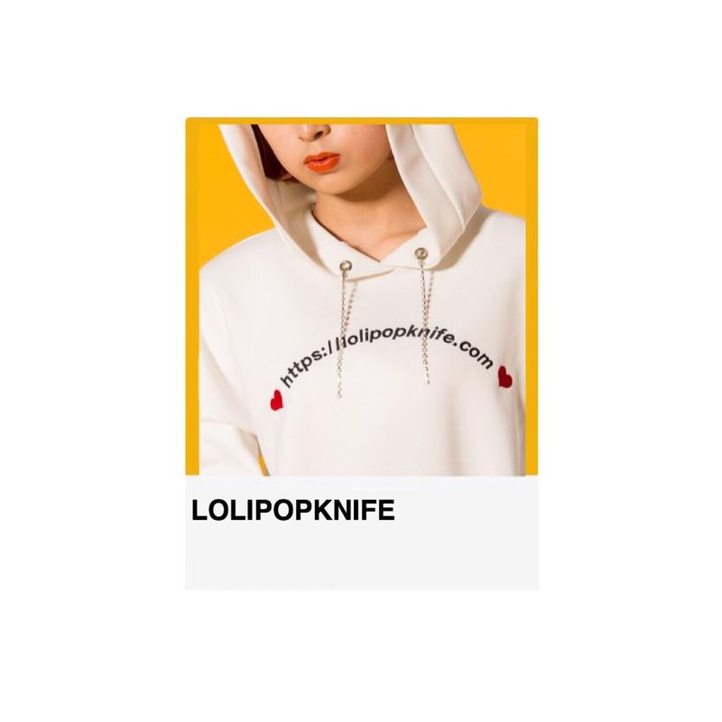 LOLIPOPKNIFE URLパーカー