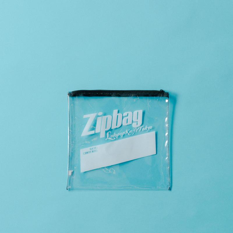 【ポスト便】Zipbagポーチ black