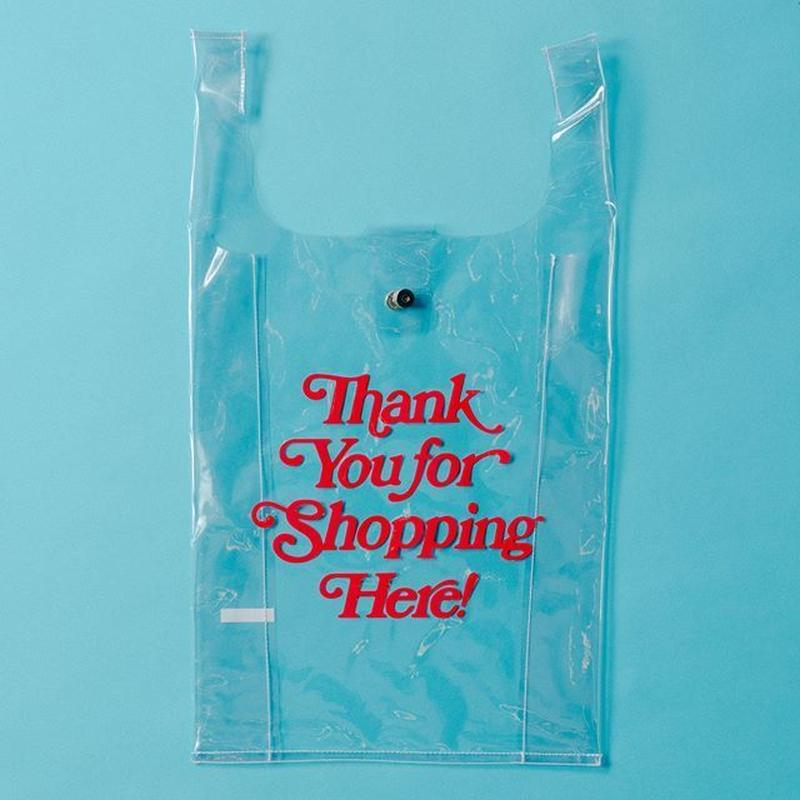 【ポスト便】PVC shoppingbag・red