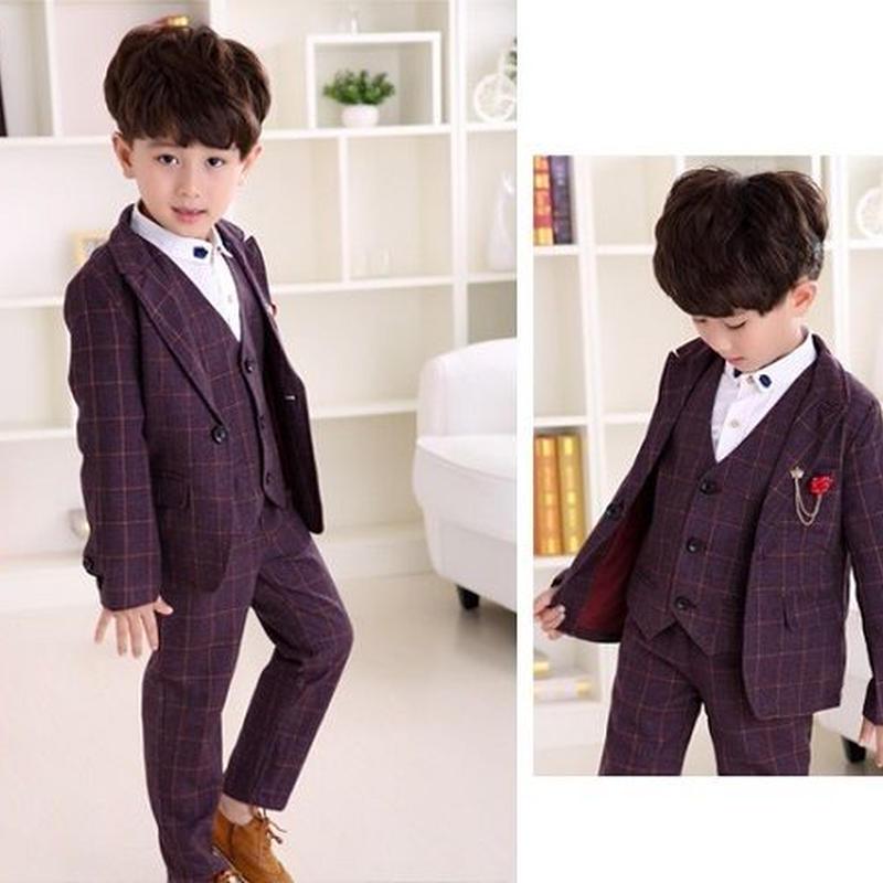 6f41e3e12e005 キッズ 子ども服 子ども服(男の子) フォーマル ブレザー 3点セット 子供スーツ カジュアル
