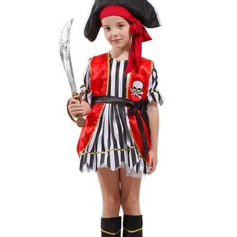 ベビー キッズ マタニティ ベビー シューズ 着ぐるみ コスチューム ハロウィン 海賊 衣装 子供 パイレーツ 女の子 ハロウィンコスプレ 子供用 帽子 ワンピース TAGX10340