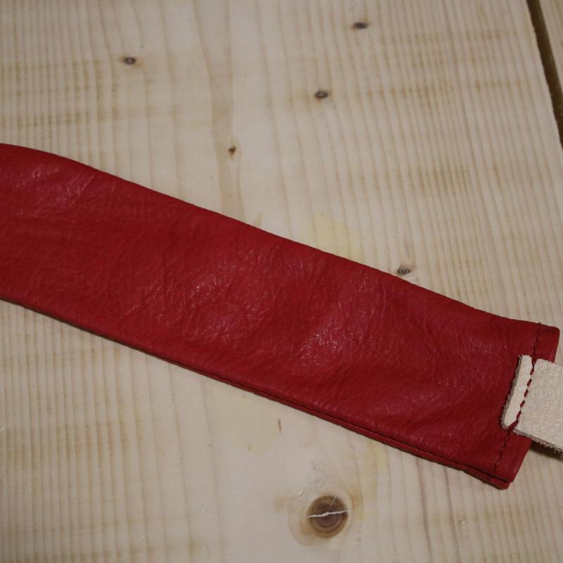 弟子屈産エゾシカ革L字パター用ヘッドカバー