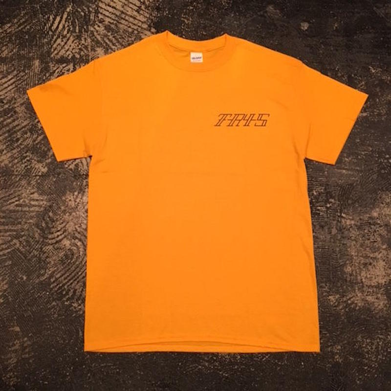 "【 tr.4 suspension 】""VULTURE"" S/S TEE ( YELLOW )"