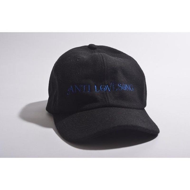 "【 tr.4 suspension × GAVIAL 】""ANTI LOVESONG"" WOOL CAP ( BLACK )"