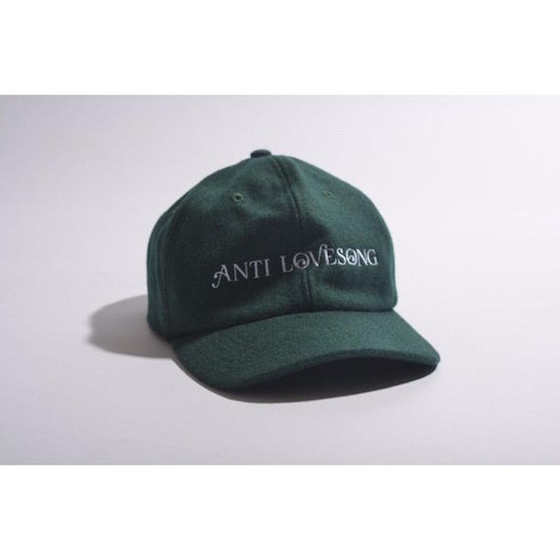 "【 tr.4 suspension × GAVIAL 】""ANTI LOVESONG"" WOOL CAP ( GREEN )"