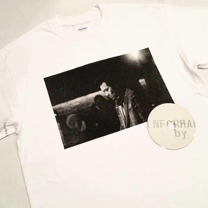 """【 tr.4 suspension 】suspension music """"Monthly publication mmj vol.2"""" S/S PHOTO TEE ( WHITE )"""