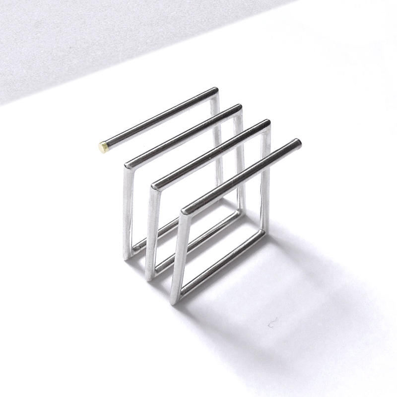 SQUARE SPRING_THICK / Ring