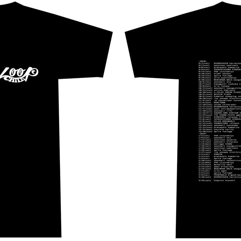 スタッフTシャツ(2018-2019)