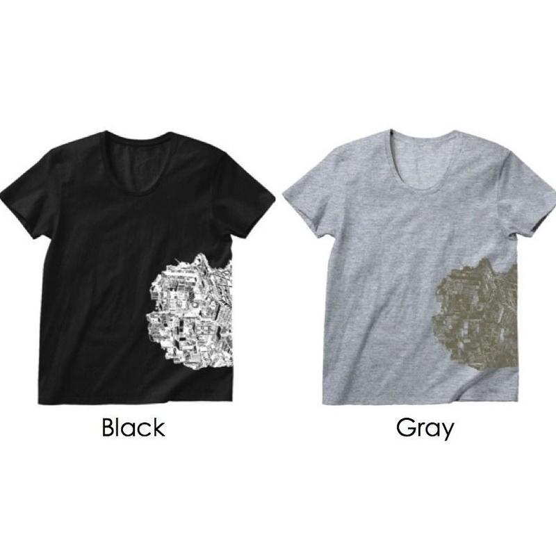 Official T-shirts (Mens/Black・Gray)