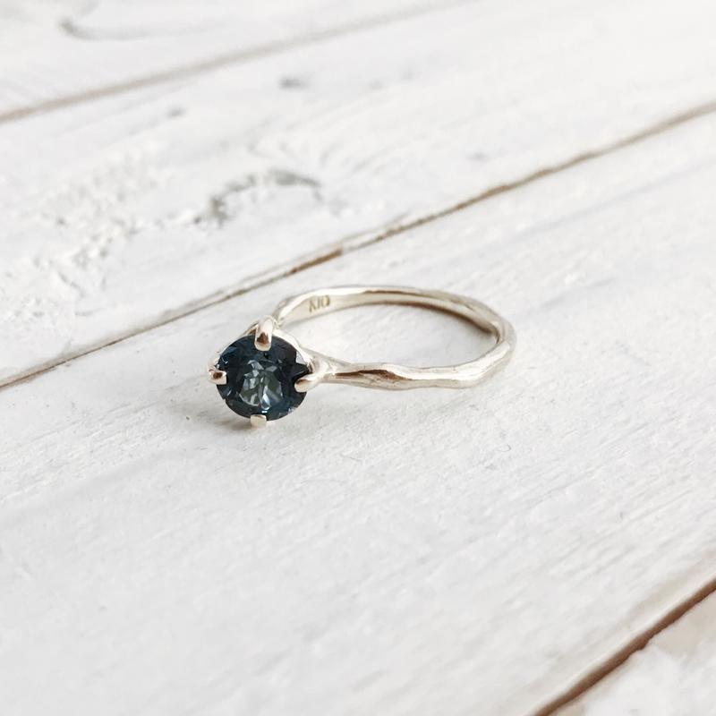 K10 london blue topaz ring #7