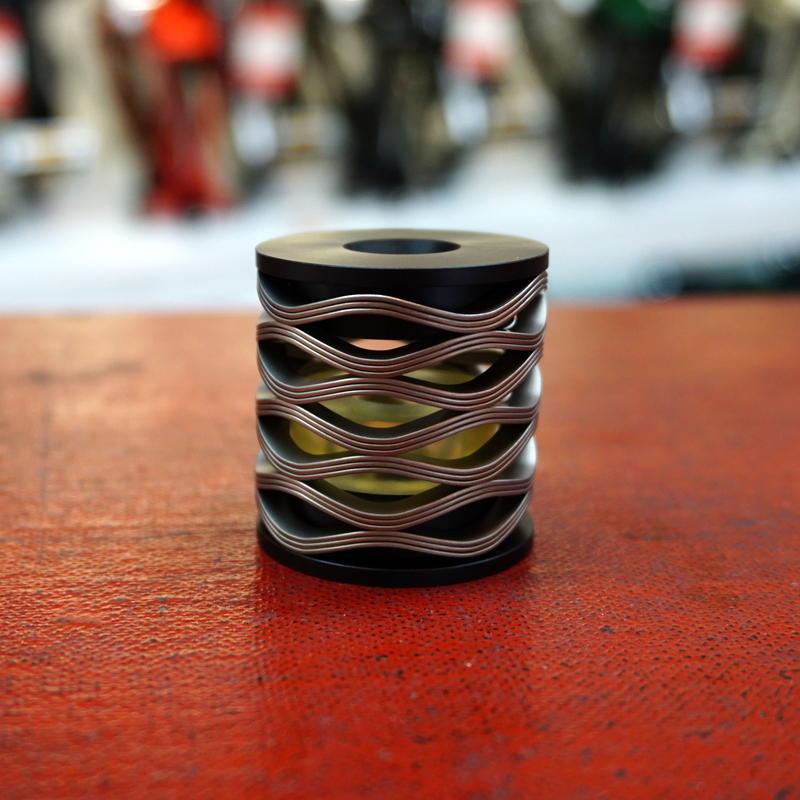 松村鋼機 Scrowave springs® for BROMPTON (Hard)