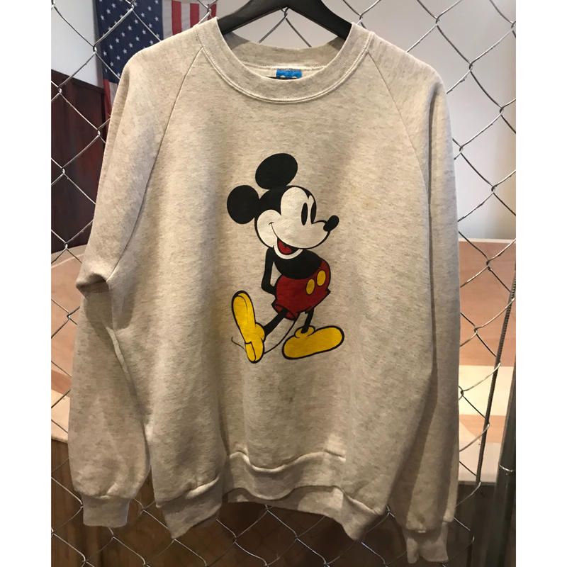 80s~Mickey sweatshirt