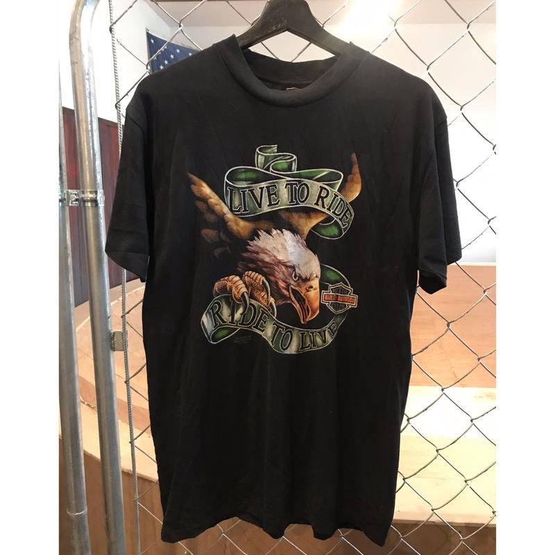 90s~ Harley Davidson T-shirt  made in USA