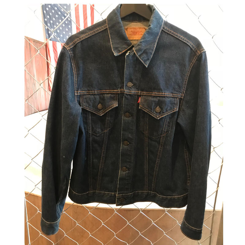 60~70s Levi`s 70505 bigE denim jacket