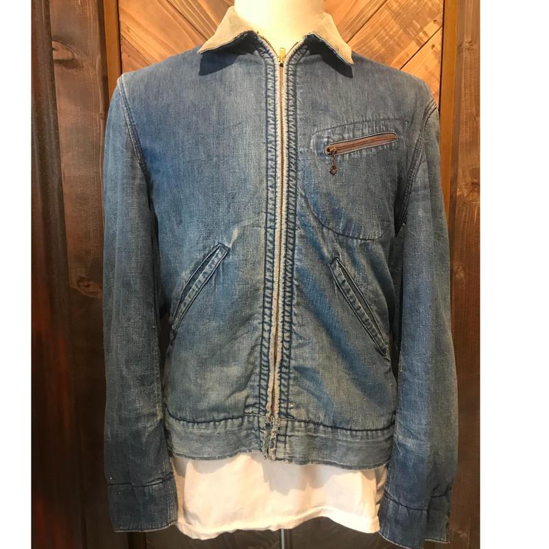 60s HERCULES Denim work Jacket (USED)