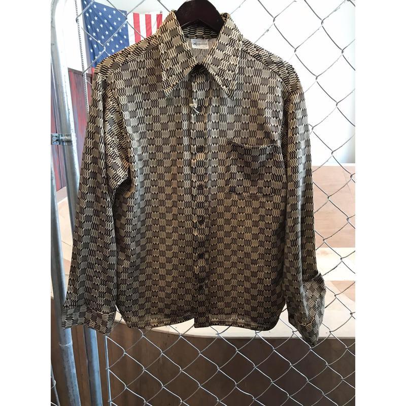 70s K mart poly shirt