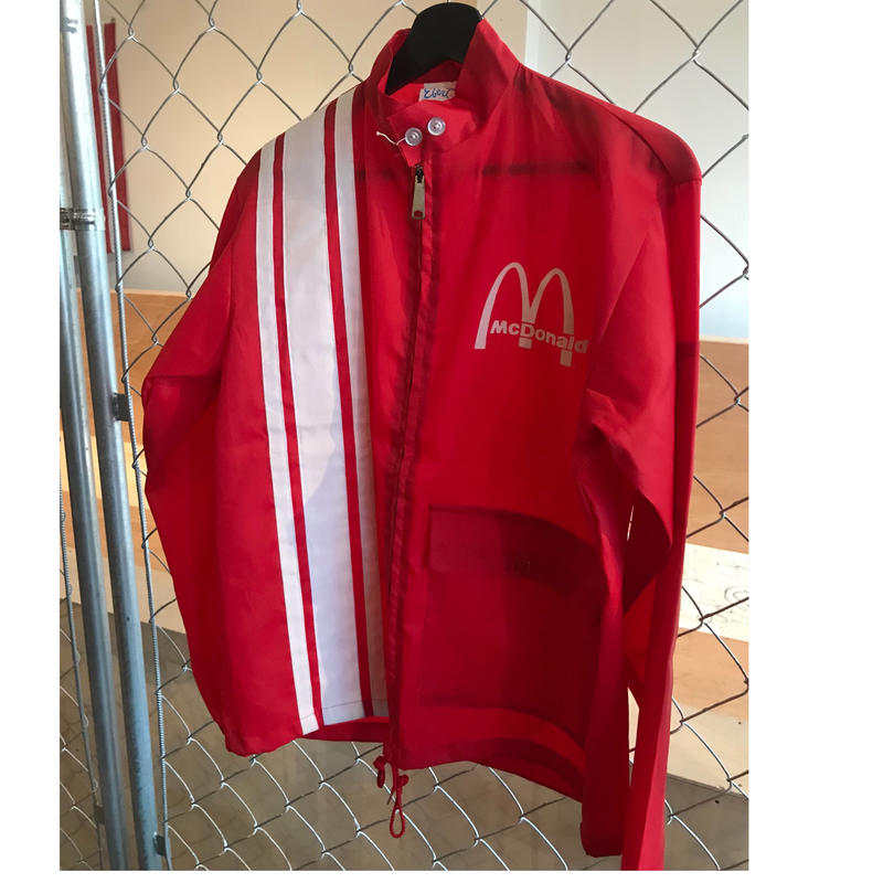 80s~McDonald`s racing jacket