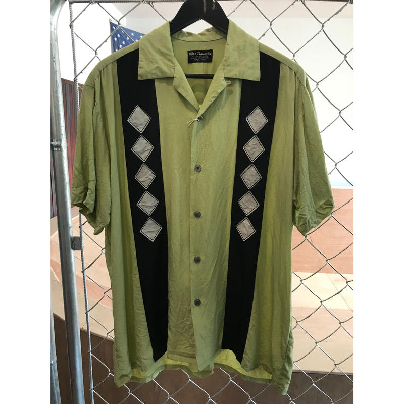 80s~Wild Dancer rayon shirt (used)